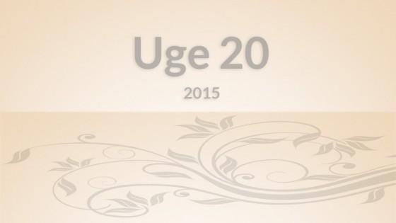 Uge20