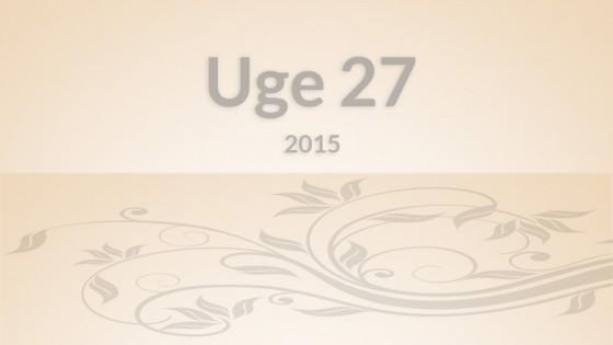 Uge27