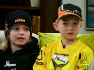 Motocross entusiaster - Torben, Willams og Johan