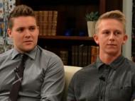 Unge Jehovas Vidner - Christoffer Slott og Kristian Birk Jensen