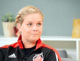 Maria F. Christensen, Træner, Jerne IF