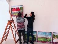 Glud Museum - Juelsmindebanen - Lola Wøhlk Hansen og Emmy Hansen
